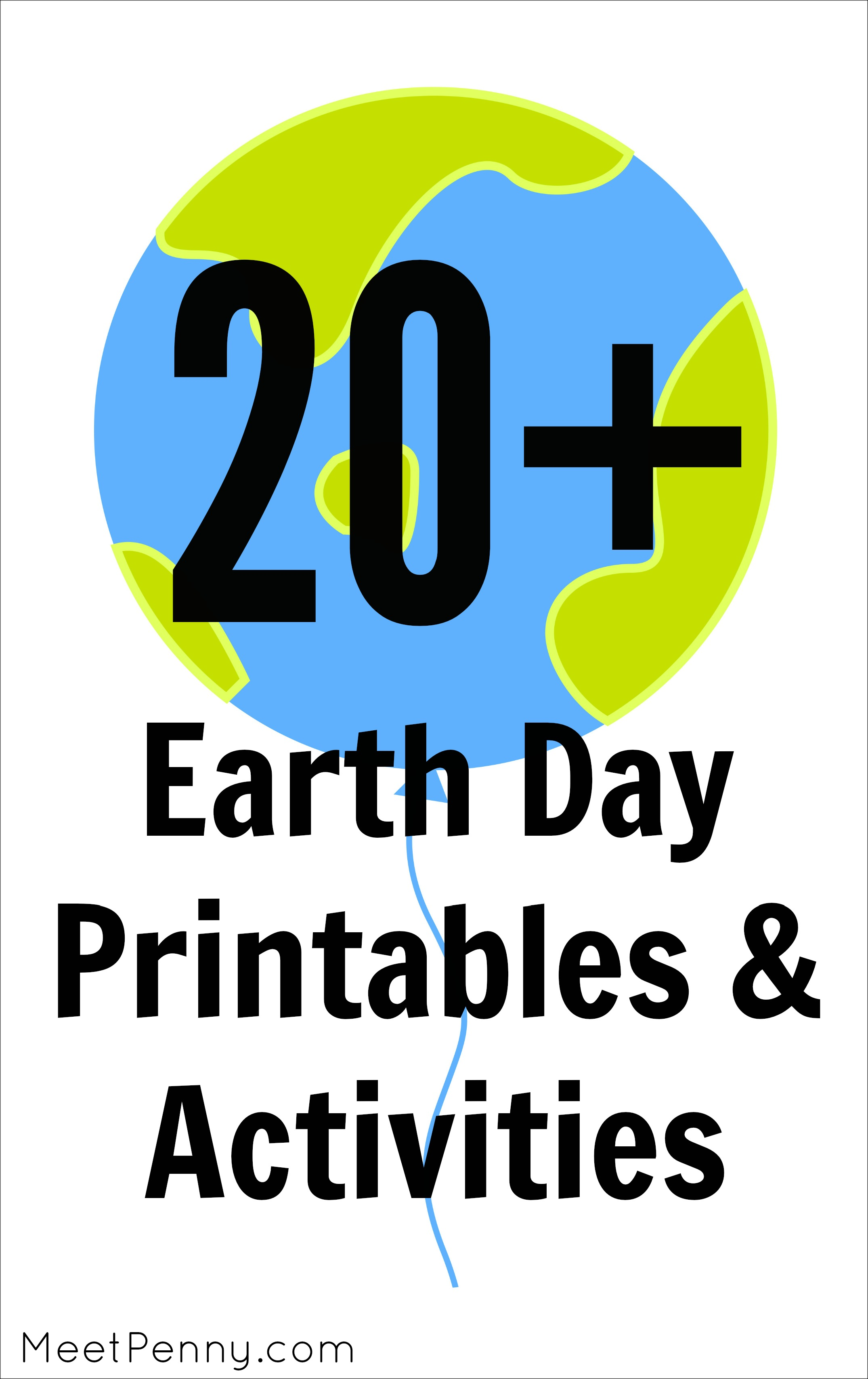 20 Printables Amp Activities For Earth Day