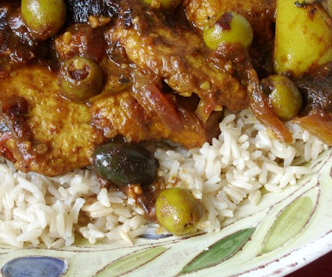 The Betty Crocker Project : Chicken (or Tofu) Tagine
