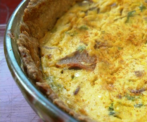 The Betty Crocker Project : Vegan Quiche Lorriane & A Revisit with Julie & Julia – 1 Year Later