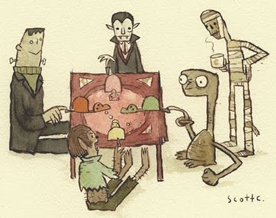ET & Friends Artwork by Scott Campbell