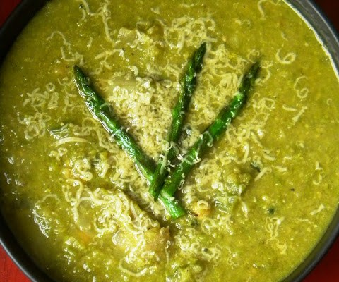 Fresh Lemon Asparagus Soup will make you happy… worked for me.