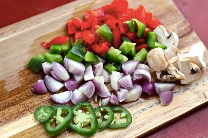 Try to make sure your vegetables are all about the same size so they cook evenly.