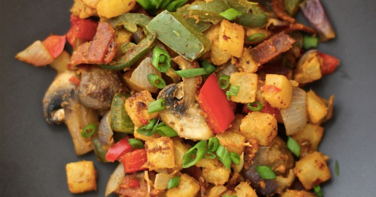 Jicama Home Fries
