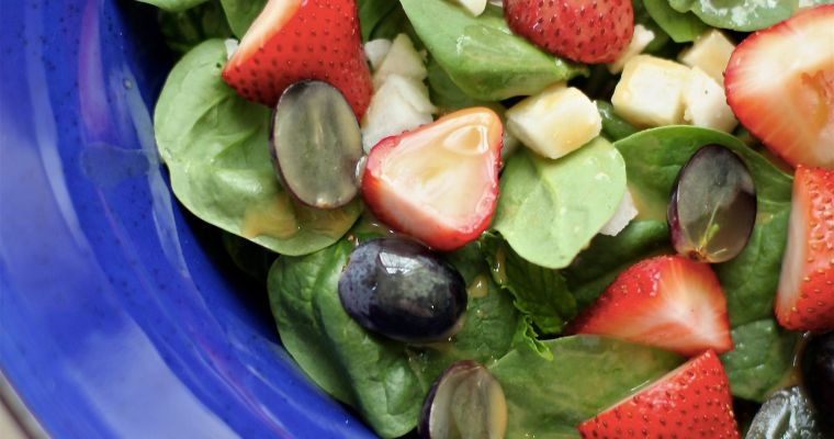 The Betty Crocker Project: Strawberry Salad & 2 Hens Tie The Knot