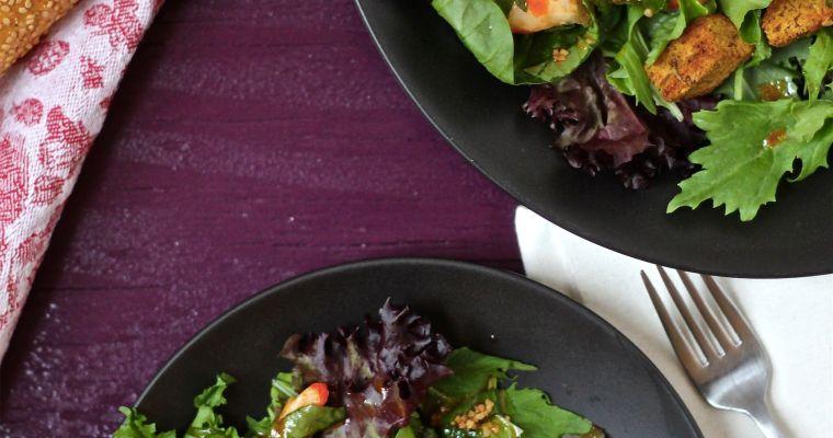 Sriracha & Basil Vegan Shrimp Salad
