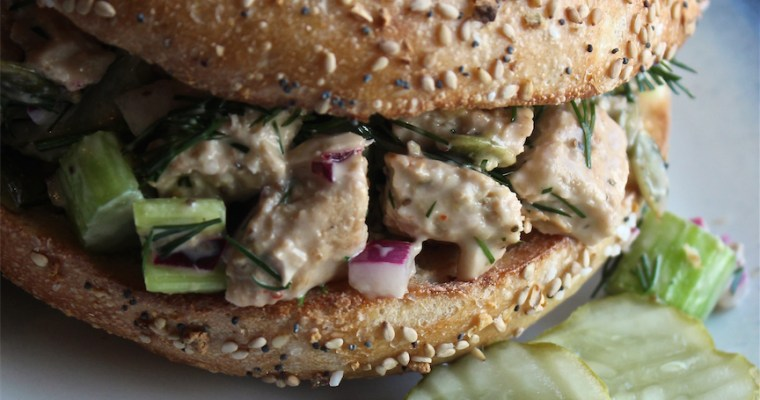 Lemon & Dill Vegan Chicken Salad