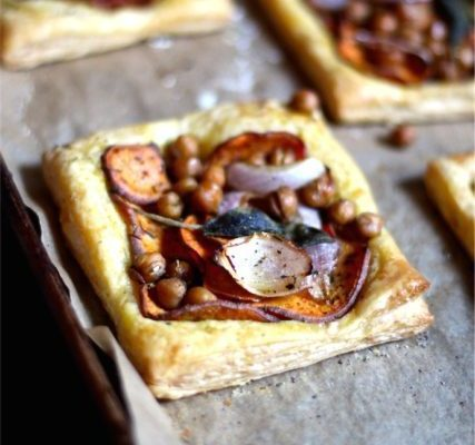 Simple Sweet Potato & Sage Tarts