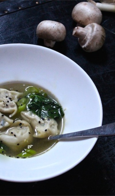 Vegan Sesame Chicken Wonton Soup & Saying 'Good Bye' to Mr. Spock