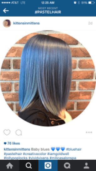 Desired Hair Color