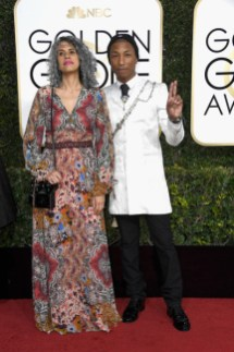 Mimi Valdes and Pharrell Williams