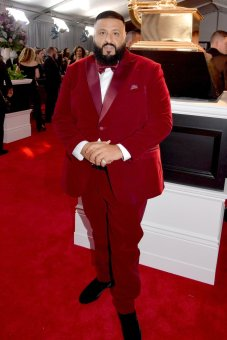 DJ Khaled at the GRAMMYS. Photo by Lester Cohen/Getty Images