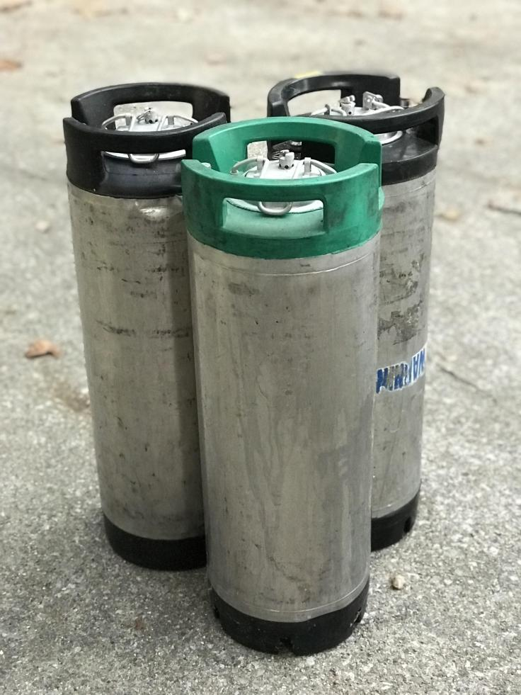 Ball Lock kegs