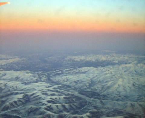 Himmel über Russland