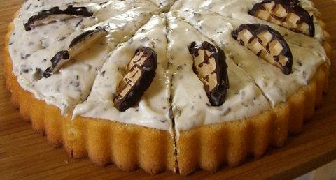 meine erste selbst gemachte Mohrenkopf-Torte!