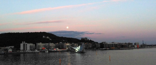Vollmond in Oslo