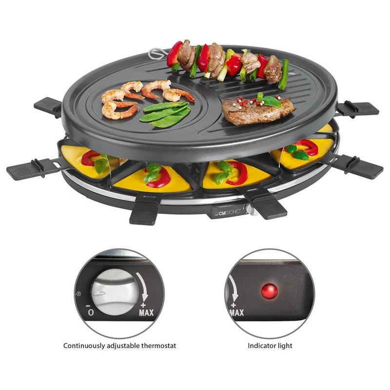 clatronic grille raclette 8 personnes rg3517 au meilleur prix en tunisie sur mega tn