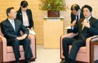 安倍首相階段