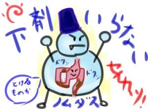 ノムダスは整腸剤・下剤でない