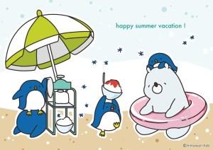 夏のひととき   ひまわりラボ! [pixiv] http://www.pixiv.net/member_illust.php?mode=medium&illust_id=54749997