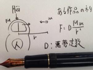 万年筆と数学