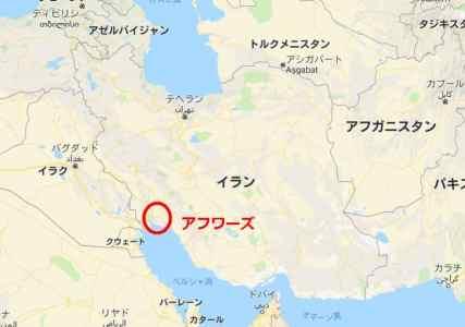 イランの場所