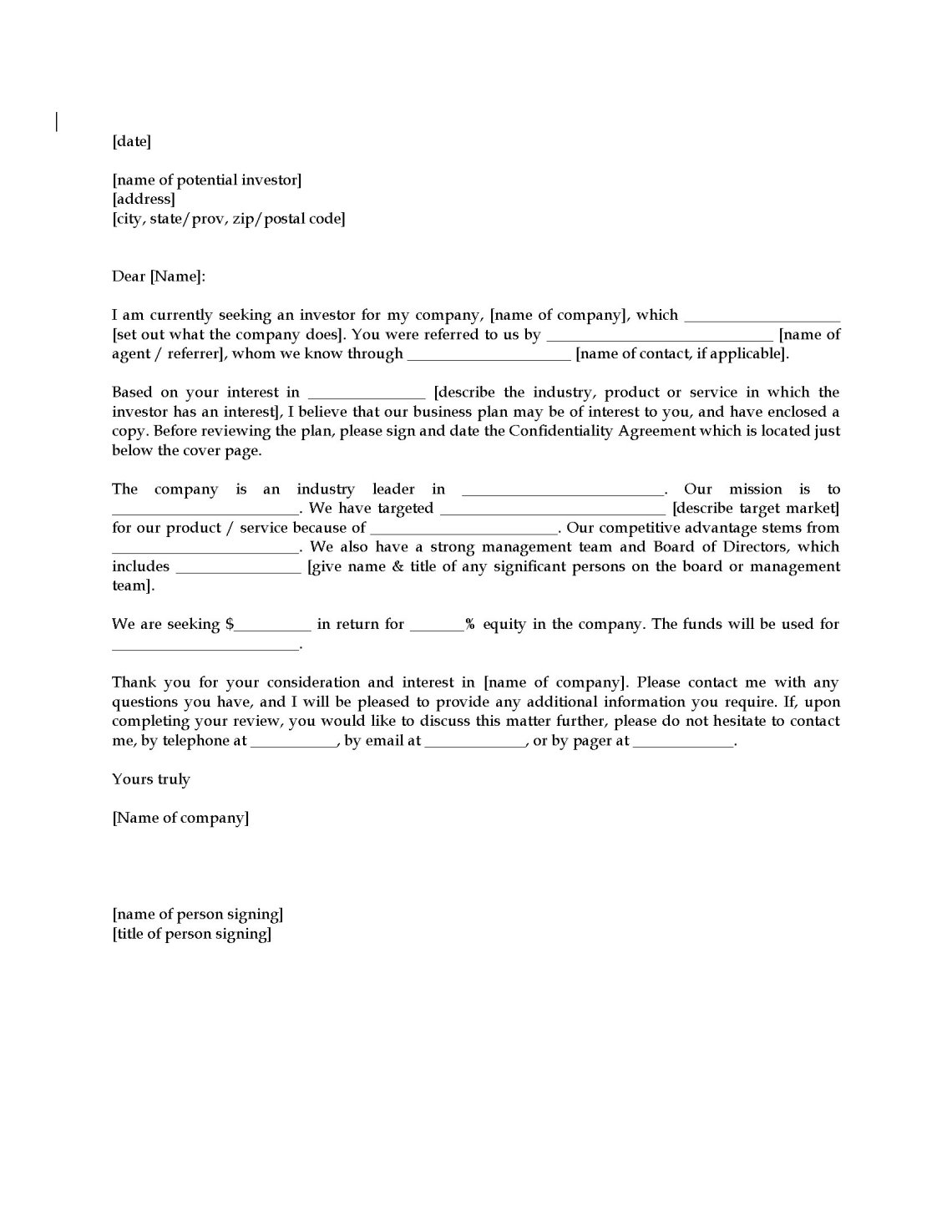 Doc624786 Executive Summary Cover Letter What Do Hiring – Executive Summary Cover Letter