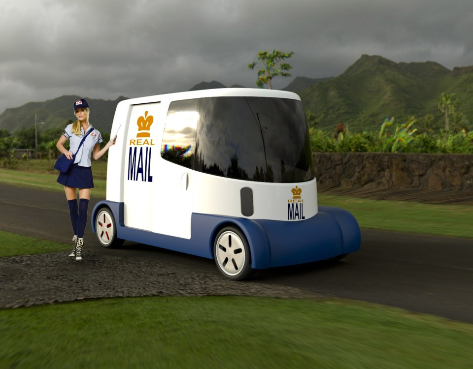 Electric Postal Vehicles
