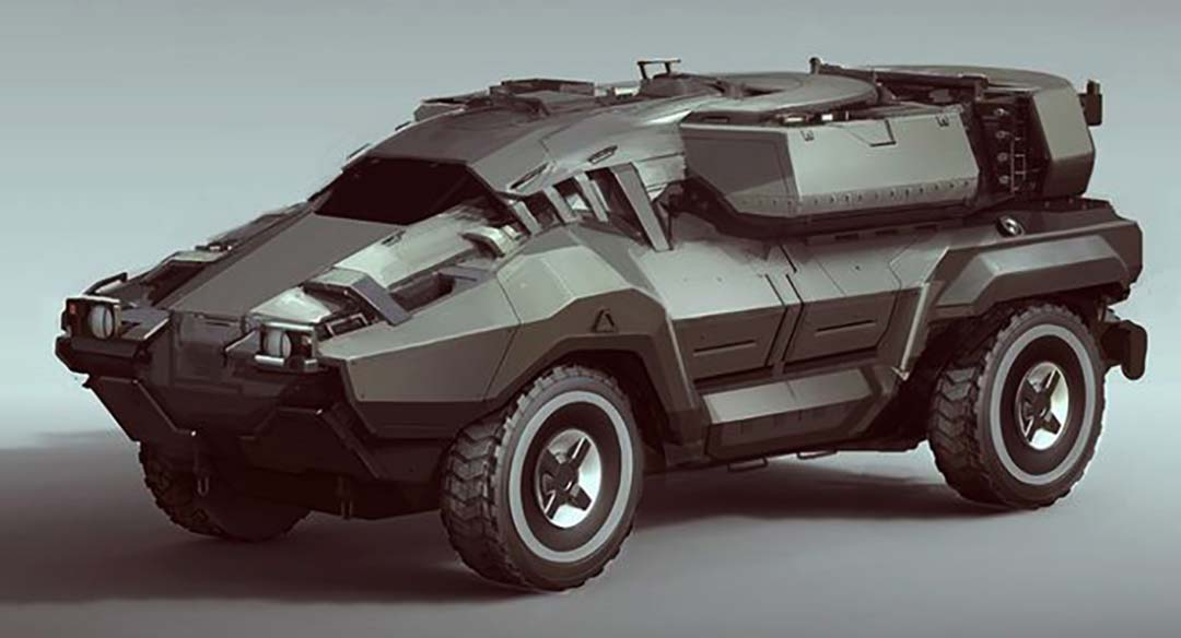 Modern Military Vehicle 8 – MEGA
