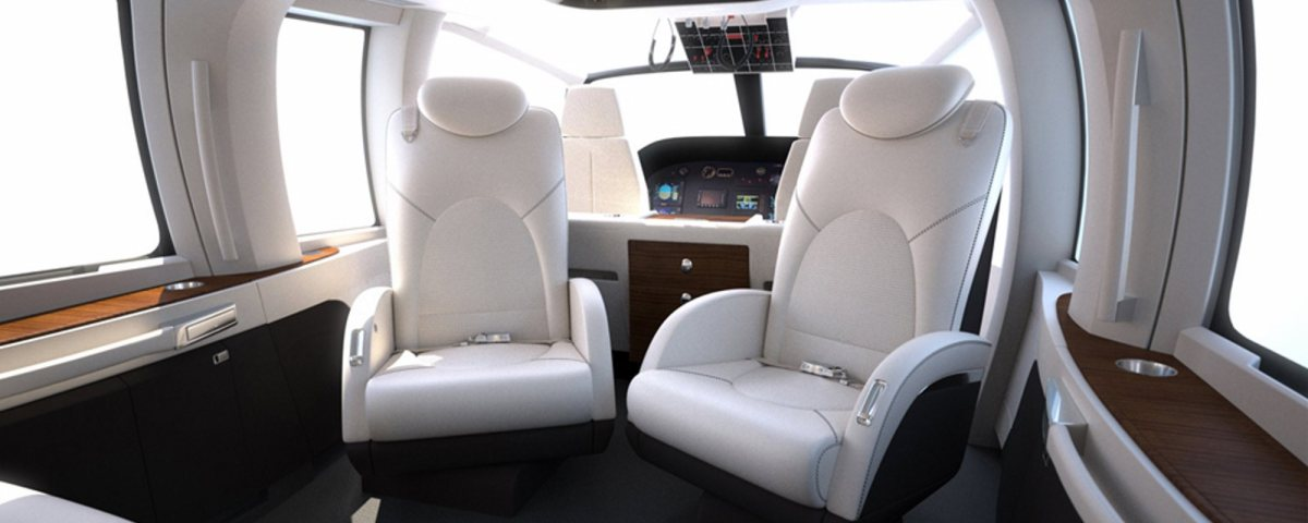 Helicopter Interiors