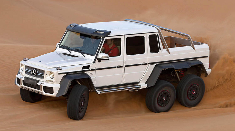 Mercedes g63 amg 6x6 mega for Mercedes benz g wagon 6x6