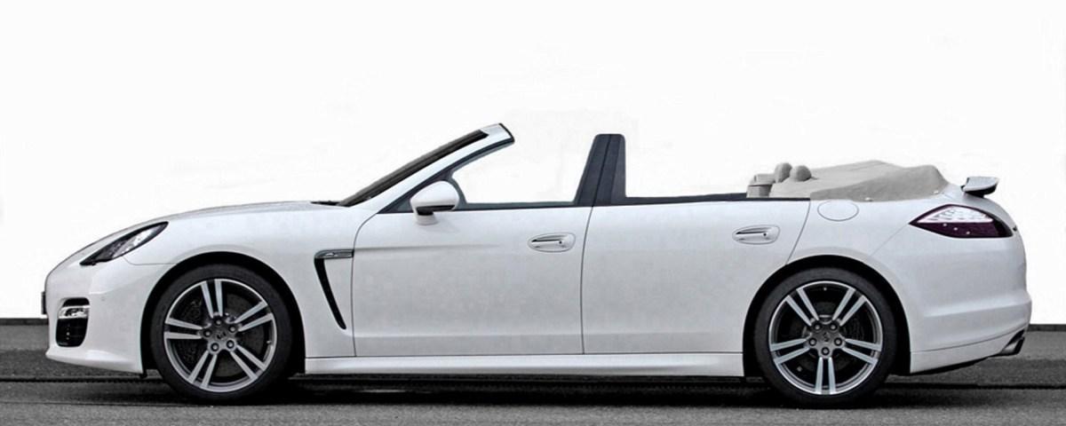 Porsche Panamera Convertible