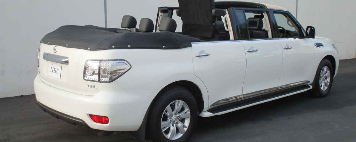 Nissan Patrol 6 door Hunting