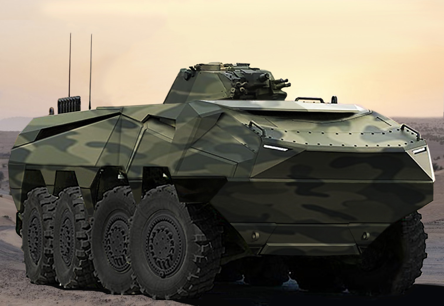 Modern Military Vehicles- Mega Engineering Vehicle