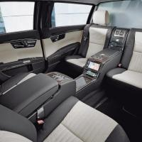 mercedes benz s600 pullman guard limousine interior 1