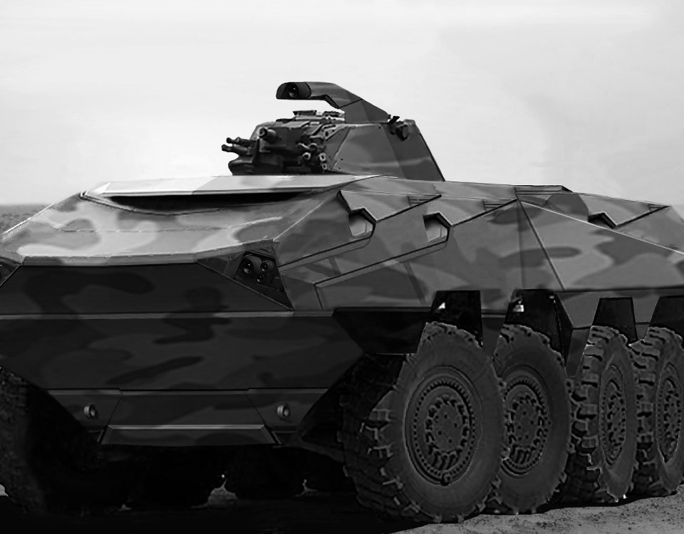 Armored Military Vehicles Brochure