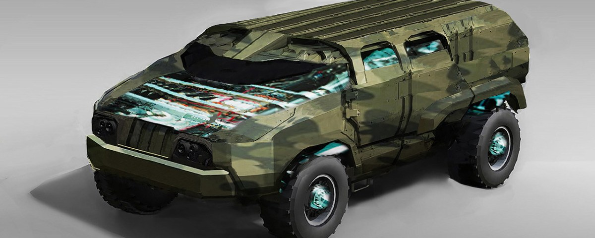 Electric Ground Combat Vehicle