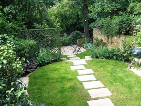 How to Design a Sloping Garden in a Very Small Area on Garden Ideas For Sloping Gardens id=47245