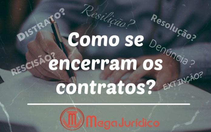 extinção dos contratos