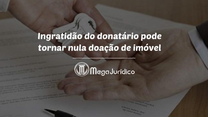 ingratidão do donatário