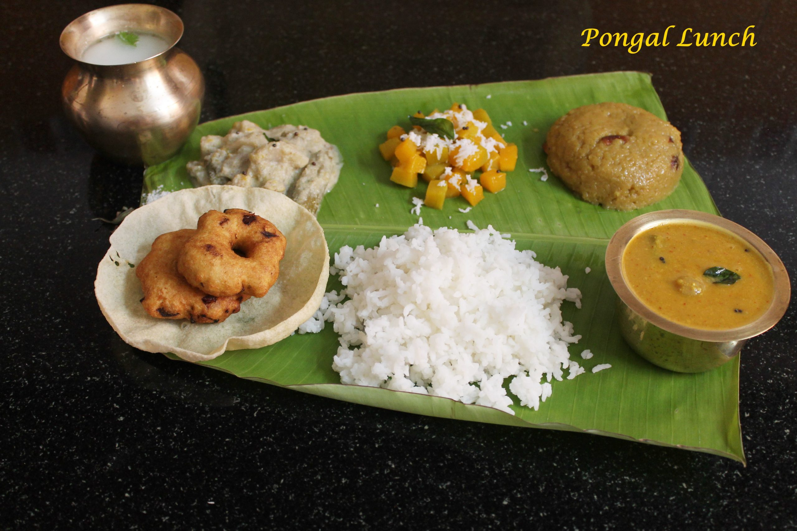 Pongal festival lunch