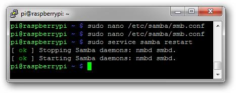 samaba service