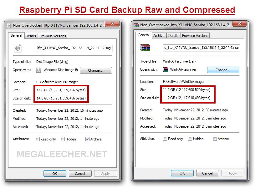 SD Card Backup