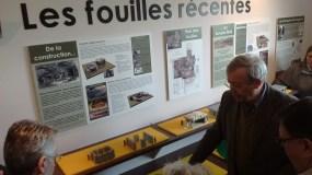 Visite du musée lors de l'inauguration 2