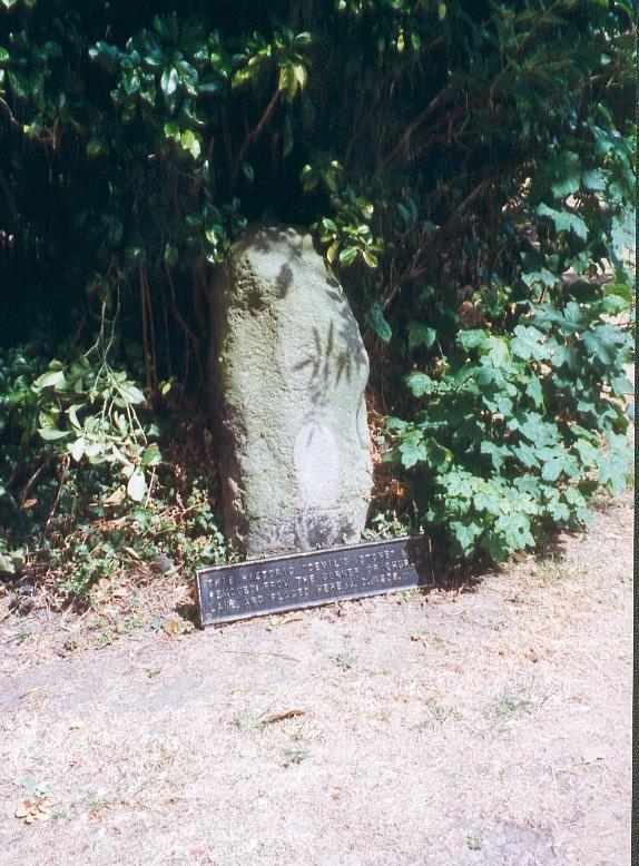 The Devil's stone (Kent)