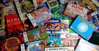 Présentation d'une boutique en ligne de jeux de société et jouets