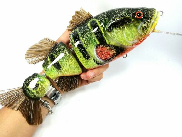Fatboy Peacock Bass Musky Lures