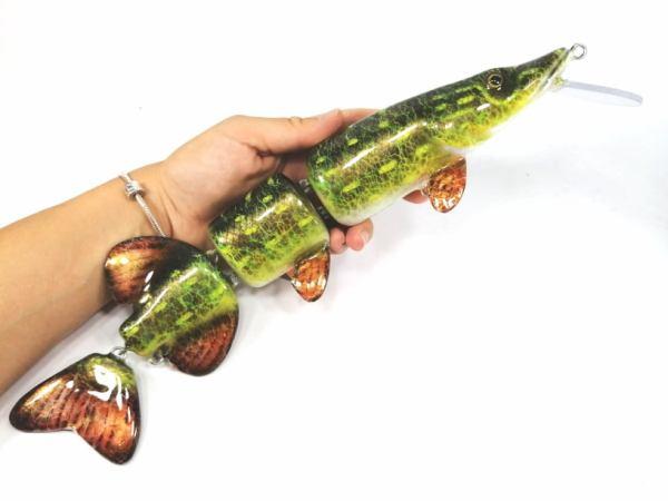 Mega Pike Custom Lures