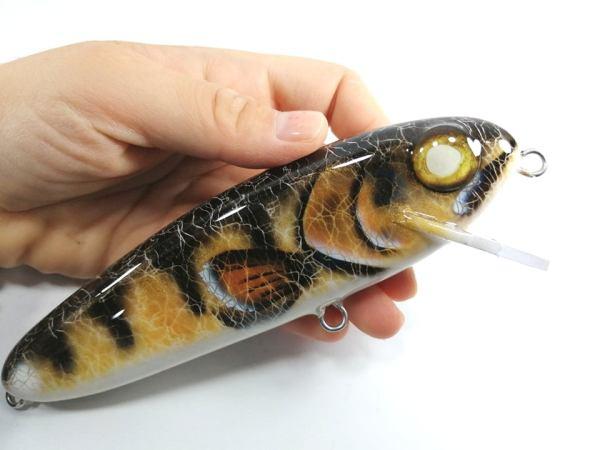 Giant Stalker 6in Fishing Lures Walleye
