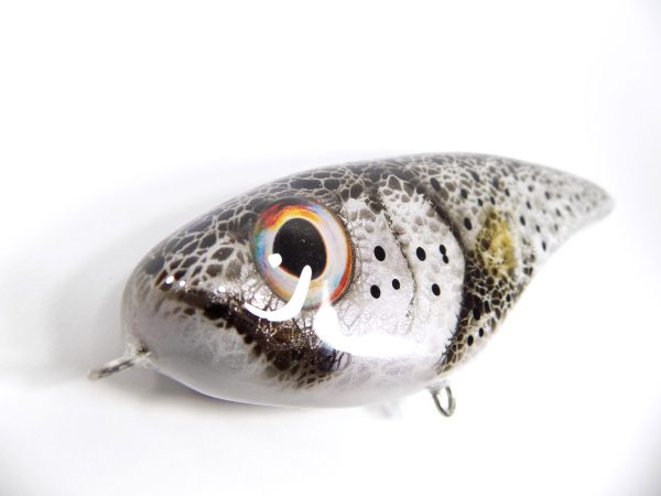 megalures-Silver Trout Musky Lure