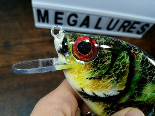Perch, MiniCrank, Megalures, Custom lures